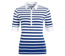 Poloshirt FELICE - blau/ weiss