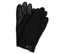 Handschuhe mit Leder und Touchscreen-Funktion