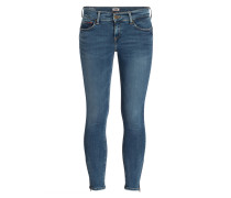 Skinny-Jeans NORA - mid blue