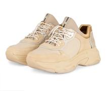 Plateau-Sneaker BAISLEY - BEIGE/ GOLD