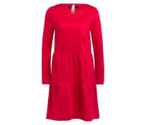 Kleid mit Volantbesatz