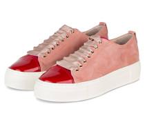 Plateau-Sneaker - ROSÉ/ ROT