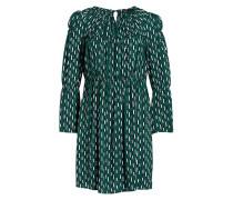 Kleid REVALOU - grün/ dunkelblau/ offwhite