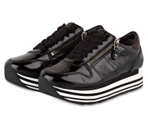 Plateau-Sneaker NOVA - schwarz