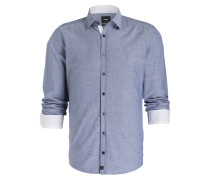 Hemd RILEY-W Modern-Fit - blau