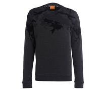 Sweatshirt WAGGLE - dunkelgrau/ schwarz