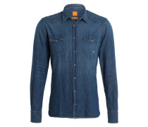 Jeanshemd RODEO Slim-Fit - blau