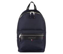 Rucksack mit Laptopfach - navy/ schwarz