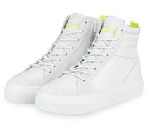 Hightop-Sneaker - WEISS