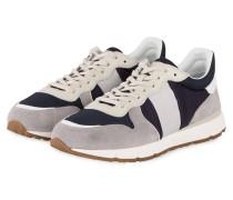 Sneaker - grau/ dunkelblau/ weiss
