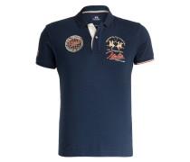 Piqué-Poloshirt CARBONELL - blau
