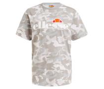 T-Shirt ALBANY - grau/ hellgrau/ weiss
