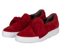 Slip-On-Sneaker - rot