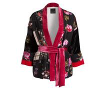 Kimono FIREWALL - schwarz/ pink/ rot