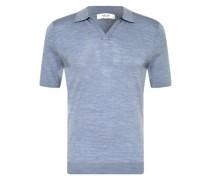 Strick-Poloshirt DUCHIE aus Merinowolle