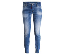 Jeans - hellblau ausgewaschen