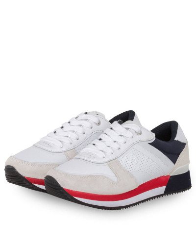 Sneaker ACTIVE CITY - WEISS/ CREME/ ROT