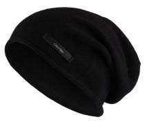 Mütze SYLVIA mit Cashmere-Anteil - schwarz