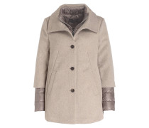 2-in-1-Jacke - taupe/ beige