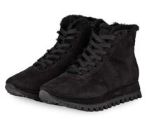 Hightop-Sneaker mit Echtfellfutter