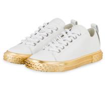Sneaker BLABBER - WEISS/ GOLD