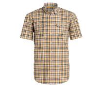 Halbarm-Hemd TOM Regular-Fit - gelb