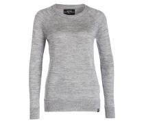 Pullover - grau/ silber meliert