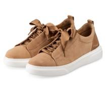 Plateau-Sneaker - HELLBRAUN