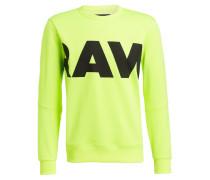 Sweatshirt VILSI STALT - neongrün