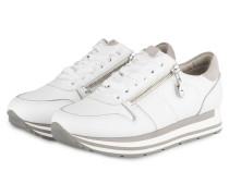Plateau-Sneaker ROCK - weiss