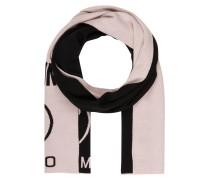 Schal - schwarz/ rosa