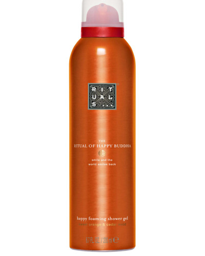 HAPPY BUDDHA - FOAMING SHOWER GEL 200 ml, 4.25 € / 100 ml