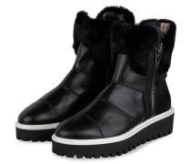 Plateau-Boots OSLO mit Kunstfellbesatz