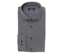 Hemd Tailored-Fit - schwarz/weiss