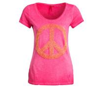 T-Shirt PEACE - pink