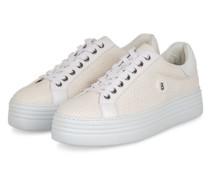 Plateau-Sneaker ORLANDO - ECRU/ WEISS