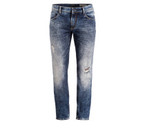 Destroyed-Jeans KEITH Skinny-Fit