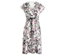 Midi-Kleid JODY - offwhite/ rosa/ schwarz