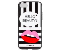 iPhone-Hülle HELLO BEAUTY - schwarz