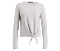 Pullover TIKAVA mit Cashmere-Anteil - grau