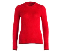 Strickpullover MARNE - rot