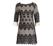 Kleid PAPILLA - creme/ schwarz