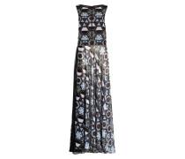 Abendkleid KOLSAS1 - blau/ schwarz