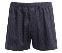 Web-Boxershorts - navy/ dunkelblau