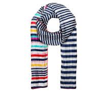 Schal aus Seide - blau