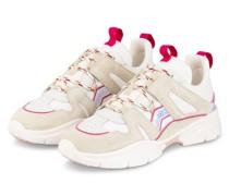 Sneaker KINDSAY - WEISS/ CREME/ FUCHSIA