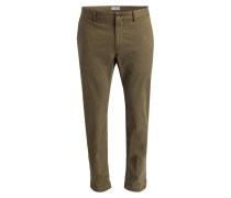 Chino CLIFTON Slim-Fit - oliv