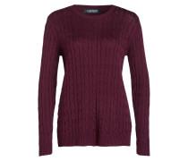 Pullover KATI - weinrot