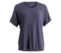 Loungeshirt - blaugrau