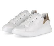 Plateau-Sneaker WAVE - WEISS/ GOLD